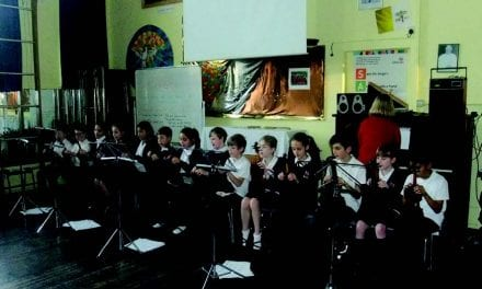 St. Ethelbert's Catholic Primary School – Year 5 Violin Group