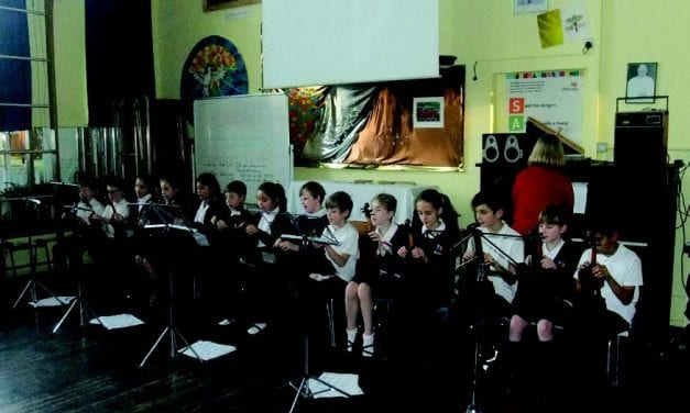 St. Ethelbert's Catholic Primary School – Year 5 Violin Group