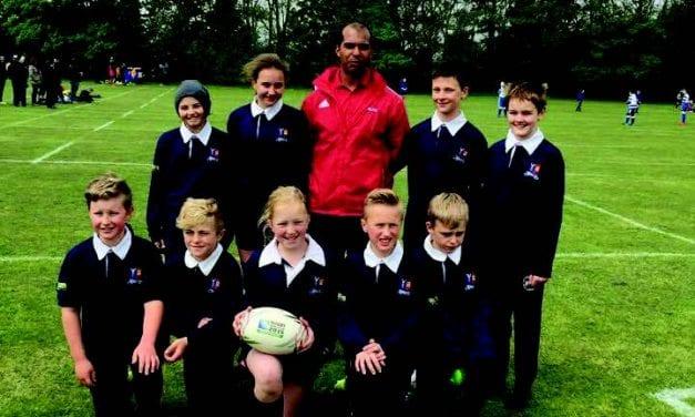 St. Ethelbert's Catholic Primary School – Rugby Festival