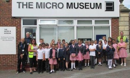 Schools Visit The Micro Museum