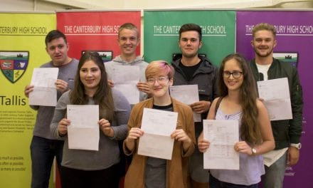 The Canterbury Academy – 6th Form Results 2017
