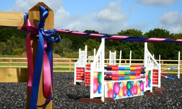STUDENTS THRILLED WITH NEW RIDING ARENA AT KENT COLLEGE