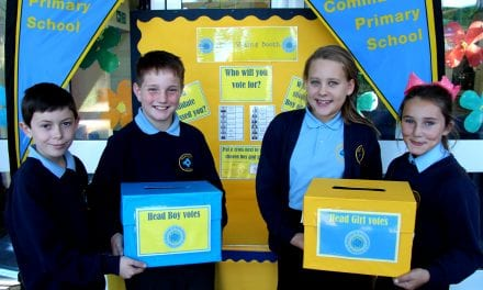 New Head Pupils Are Excellent Ambassadors