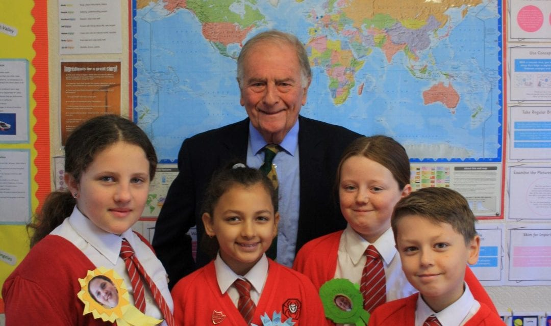 Chartfield School Hold Mock Election for Parliament Week