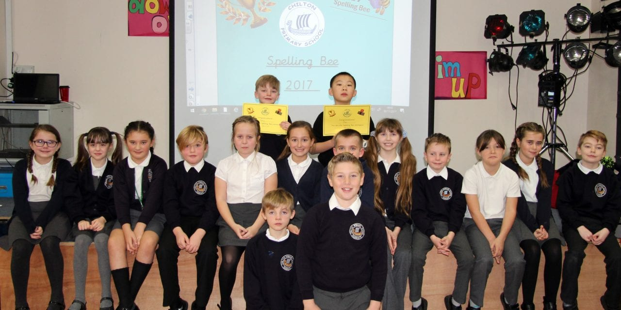 Chilton Primary School, My Word – What Super Spellers!
