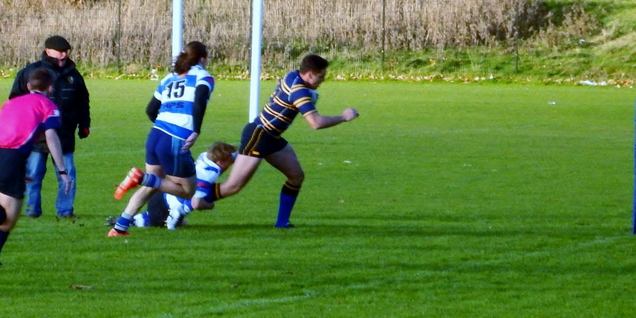 HASTINGS & BEXHILL RFC 19-22 THANET WANDERERS RUFC