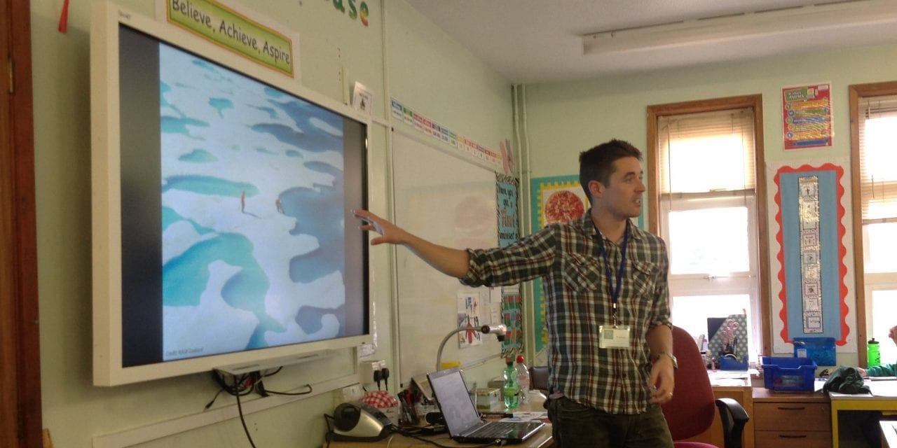 Polar Scientist Enthrals Year 6 Pupils at Saint Laurence Junior Academy