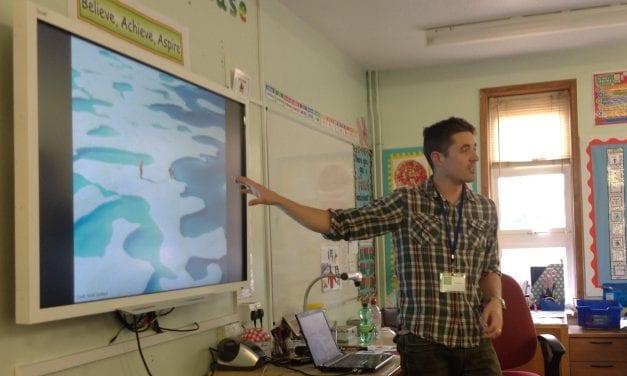 Polar Scientist Enthrals Year 6 Pupils at Saint Laurence Junior Academy