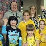 Colourful Characters Support Pudsey