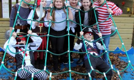 Pirates Set Sail for Charity on HMS Upton