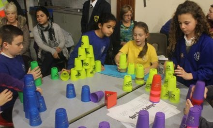 It's All Stacking Up For Thanet Primary School Students
