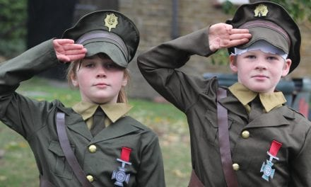 St Ethelbert's Celebrate The End Of World War II