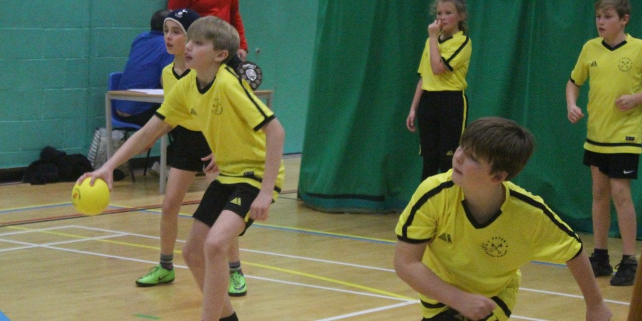 St Peter's Triumph In Primary Dodgeball Tournament
