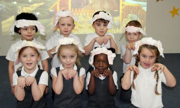 Little Stars Shine at Chilton Nativity