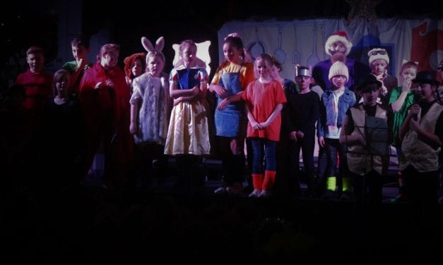 A retelling of a classic thrills a packed audience at Newington Community Primary School