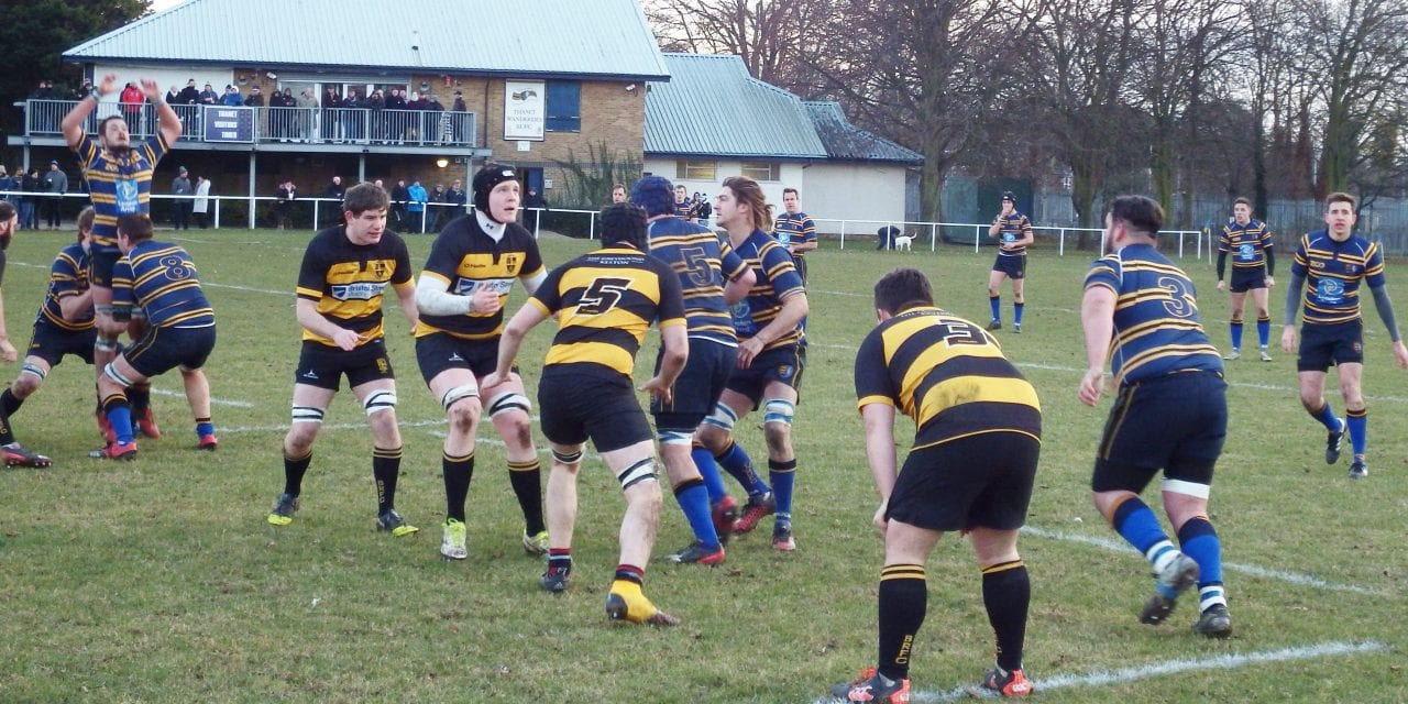 THANET WANDERERS RUFC 29  –   19 BROMLEY RFC