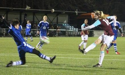 West Ham Prove A Step Too Far For Valiant Bluebirds