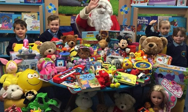 Newington's Generous Gifts for Santa's Sleigh