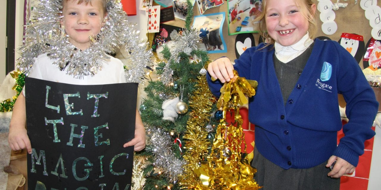Magic Time for Festive Fun at Ramsgate Arts Primary School