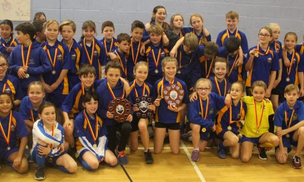 Primary Athletes Excel In Thrilling Sportshall Event