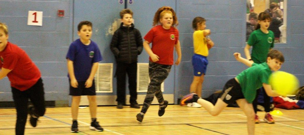 Dodgeball Proves A Hit At Canterbury Academy