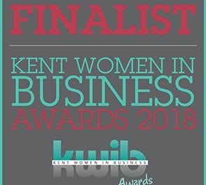 Kent Women in Business Awards 2018 – Finalist