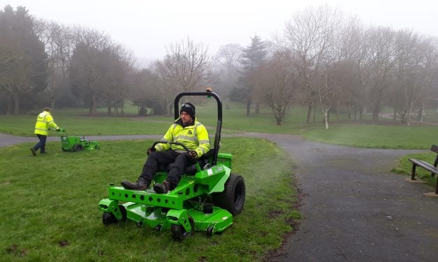 Thanet District Council is First Local Authority in UK to Invest in Electric Mowers
