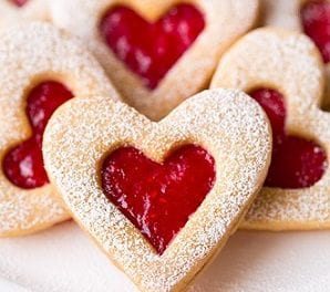 Valentine's Day Butter Biscuits Recipe