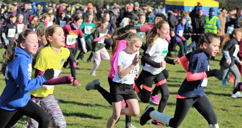 Local Athletes Brave The Cold And Wind To Excel In Thanet Primary School Cross Country Competition