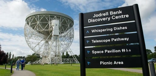 Young Reporter, Rose, visits Jodrell Bank Discovery Centre