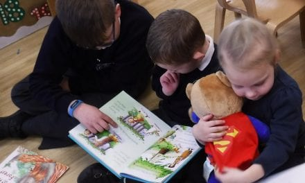 Book Week Launches Reading Projects at Chilton Primary School