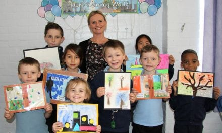 Pupils' Creative Art on Show