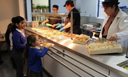 Tasty New Midday Meals Service is Amazing say Pupils
