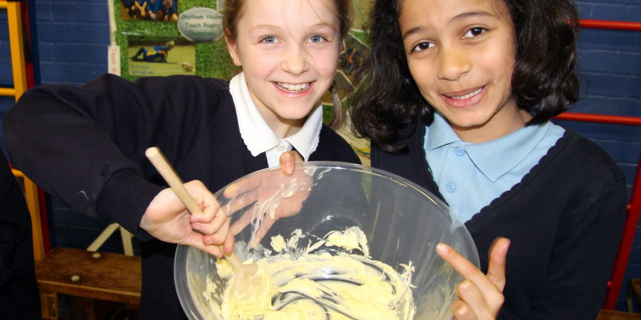 Bake It Is A Tasty Educational Treat at Upton Junior School
