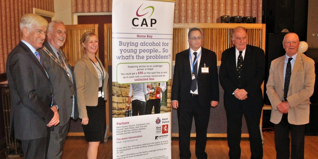 Fantastic Launch Event for Herne Bay Community Alcohol Partnership