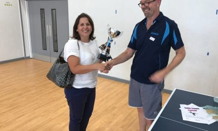 Laleham Gap Table Tennis Club Receives Double National Recognition!