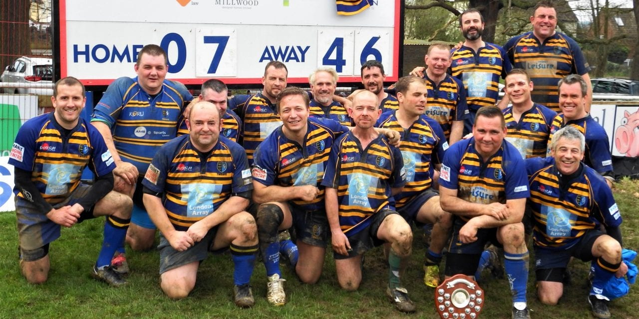 Wanderers Veterans win the Spitfire Golden Oldies Plate Final 46-7