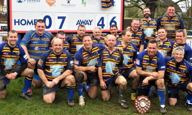 Wanderers Veterans win the Spitfire Golden Oldies Plate Final 46-7