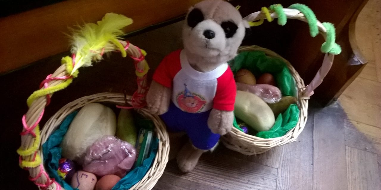 "The Adventures of Charlie the Meerkat … ""Easter Saturday"""
