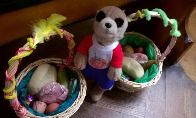 "The Adventures of Charlie the Meerkat … ""Easter Saturday"""
