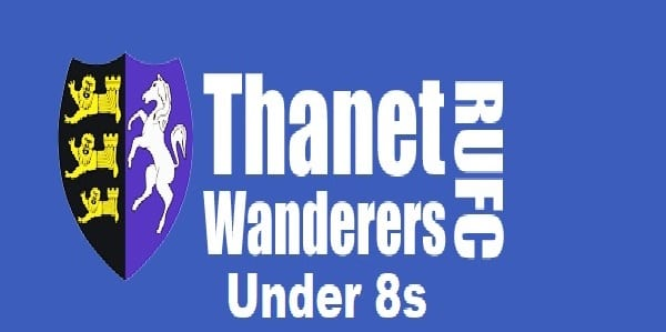 Thanet Wanderers U8s at the East Kent Rugby Festival