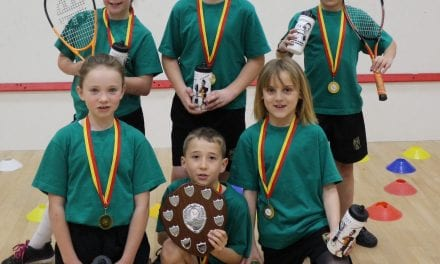 Sparks Fly in Thanet Passport's Mini Squash Tournament