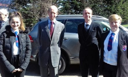 A Royal Visit to Isle of Sheppey—Oasis Year 8 Students meet The Duke of Kent