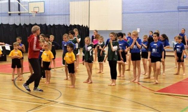 Gymnasts take 'Key Steps' Towards Kent School Games Finals