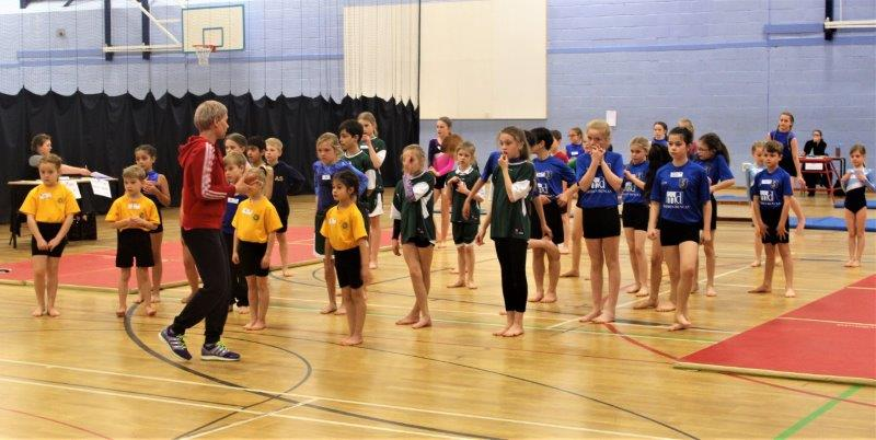 Gymnasts take 'Key Steps' Towards Kent School Games Finals