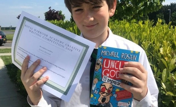 Royal Harbour Academy Creative Writing Competition