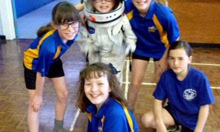 Upton Junior School Mission to Mars