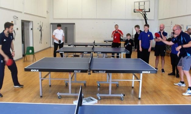 Team GB and England Star Praises Thanet School