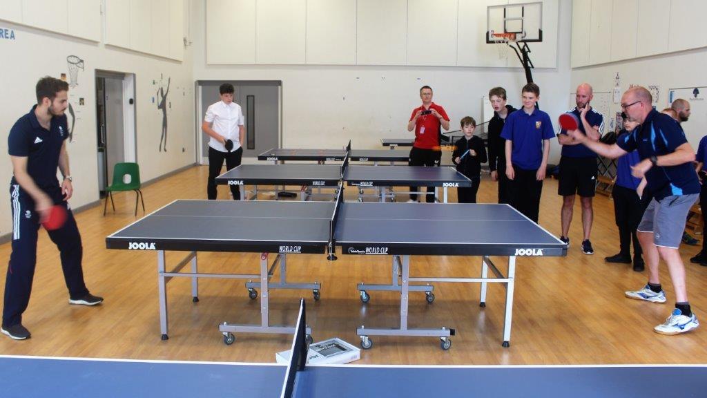 Team GB and England Star Praises Thanet School