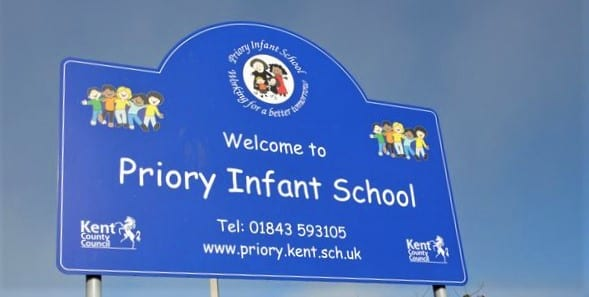 'Punctuality Pup' Visits Pupils At Priory Infants